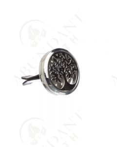 Stainless Steel Car Diffuser: Leafy tree