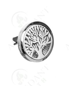 Stainless Steel Car Diffuser: Tree of Life