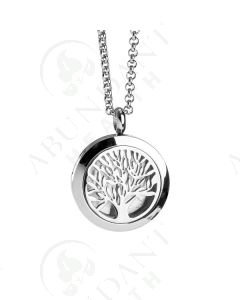 Stainless Steel Diffusing Locket: Tree of Life