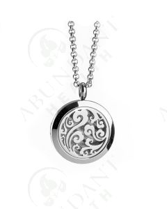 Stainless Steel Diffusing Locket: Wave