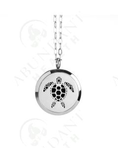 Stainless Steel Diffusing Locket: Sea Turtle