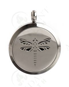 Stainless Steel Diffusing Locket: Dragon Fly