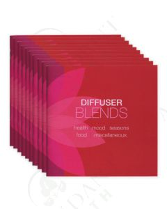 """Diffuser Blends"" Booklets (10 Count)"