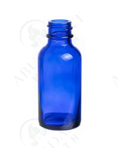 1 oz. Bottle: Blue Glass, 20-400 Neck Size