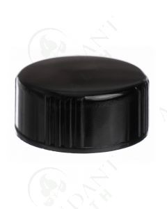 Plastic Cap: Black; 24-400 Neck Size