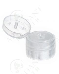 Plastic Cap: Natural; Snap-top; 20-410 Neck Size