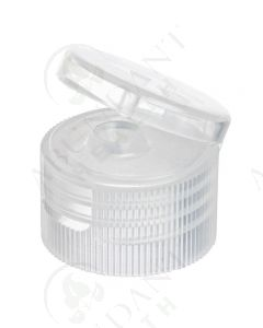 Plastic Cap: Natural; Snap-top; 24-410 Neck Size