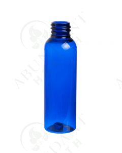 2 oz. Bottle: Blue PET Bullet Plastic; 20-410 Neck Size