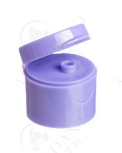 Plastic Cap: Purple; Snap-top; 20-410 Neck Size