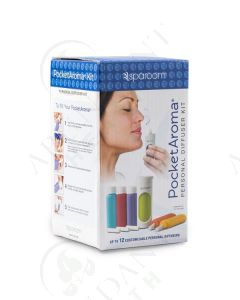 PocketAroma Personal Diffuser Kit (Set of 6)