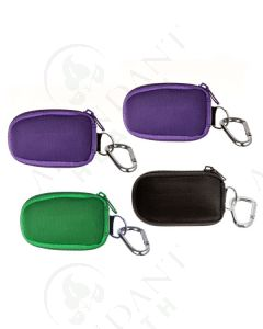 4 Aroma Ready Key Chain Cases: Includes 32 Sample Vials (5/8 dram)