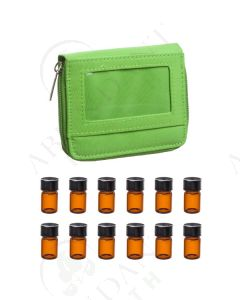Sample Case: Apple Green; Includes 12 Vials (5/8 Dram)
