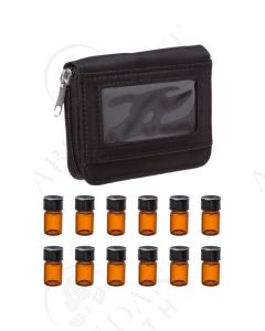 Sample Case: Black; Includes 12 Vials (5/8 Dram)