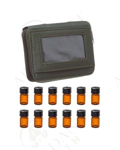 Sample Case: Dark Green; Includes 12 Vials (5/8 Dram)