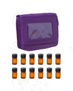 Sample Case: Purple; Includes 12 Vials (5/8 Dram)