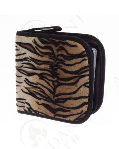 Small Essential Oil Case: Tiger Print (Holds 49 Sample Vials)