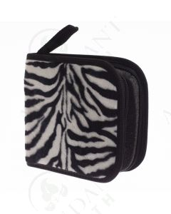 Small Essential Oil Case: Zebra Print (Holds 49 Sample Vials)