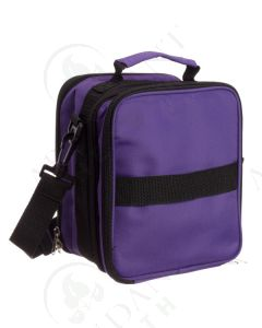 Carrying Case: Purple; Multi-size Bottles (Holds 91 Vials)