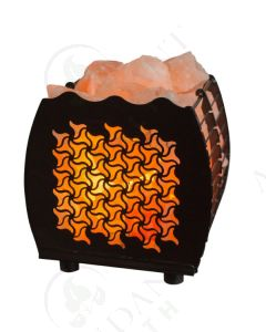 Himalayan Salt Lamp Basket: Tri-star