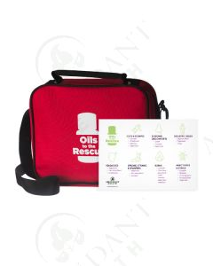 "First Aid Kit and Usage Card: ""Oils to the Rescue"""