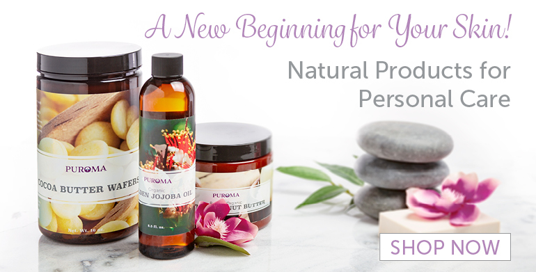 A New Beginning for Your Skin! Natural Products for Personal Care