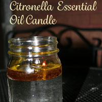 Easy Citronella Candles