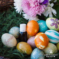 Naturally Dyed Easter Egg Diffusers