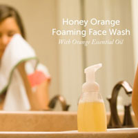 Honey Orange Foaming Face Wash